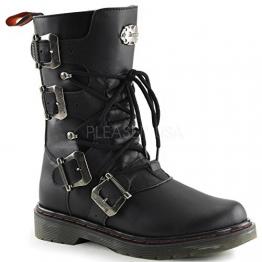 Demonia Disorder-306 - vegane Gothic Metal Punk Industrial Ranger Stiefel 36-46 - 1