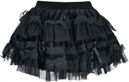 Burleska Lolita Skirt Rock schwarz M-L - 1