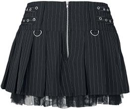 Burleska Lucy Skirt Minirock schwarz S - 1