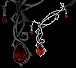 Alchemy Gothic Leidenschaft Halskette - 1