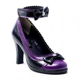 Demonia Glam-40 - Gothic Emo Lolita High Heels Schuhe 36-43, Größe:EU-41/42 / US-11 / UK-8 - 1