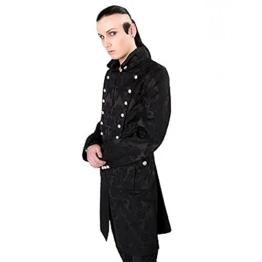Aderlass Admiral Coat Brocade Black (Größe L) - 1