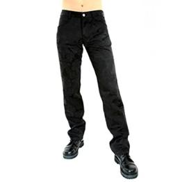 Aderlass Jeans Brocade Black, Black, 36 - 1