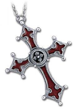 """Alchemy Gothic Anhänger """"Noctis-Kreuz"""", Gothic-Look - 1"""