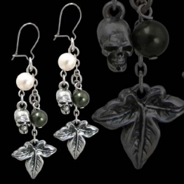Alchemy Gothic Gift Efeu Ein Paar Ohrringe - 1