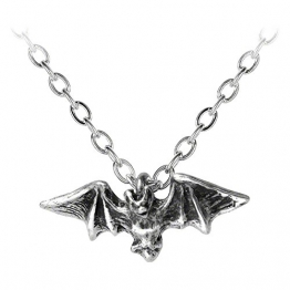 Alchemy Gothic Kiss Of The Night Pendant Anhänger (Silber) - 1