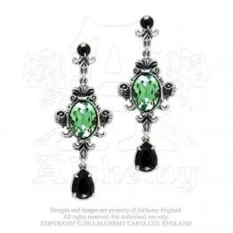 Alchemy Gothic Königin der Nacht Ein Paar Ohrringe - 1
