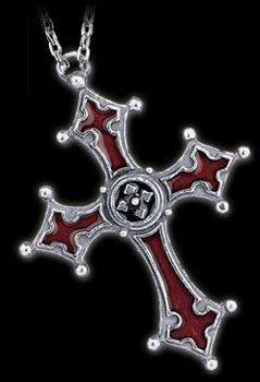 Alchemy Gothic Noctis Cross Pendant Kette - 1