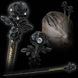 Alchemy Gothic Rose Der Leidenschaft Haar-Stock - 1
