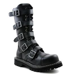 ANGRY ITCH 14 5 Buckles Stiefel schwarz EU44 - 1