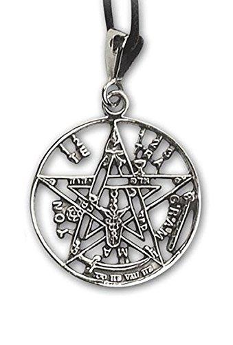 Anhänger Tetragrammaton Magischer 925er Silber Schmuck - Schutzamulett - 1