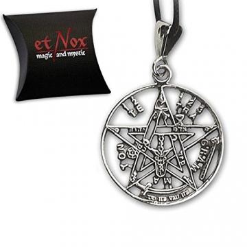 Anhänger Tetragrammaton Magischer 925er Silber Schmuck - Schutzamulett - 2