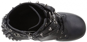 Demonia Damen Poison-101 Kurzschaft Stiefel, Schwarz (Schwarz (Blk Vegan Leather)), 39 EU - 8