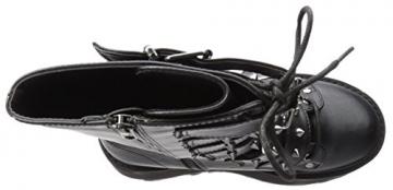 Demonia Damned 225 Stiefel schwarz EU37 - 8