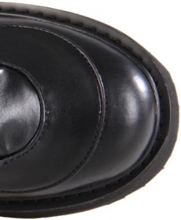 Demonia SWING-815, Damen Langschaft Stiefel, Schwarz (Schwarz (Blk Vegan Leather)), 38 EU (5 Damen UK) - 7