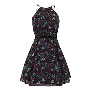 Hell Bunny Kleid Death's Head Dress 4821 (Größe 36, Grau) - 3