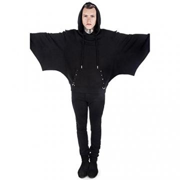 Killstar Kapuzenpullover - Asmodeus Bat Hoodie L - 2