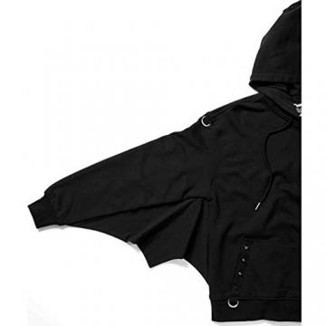 Killstar Kapuzenpullover - Asmodeus Bat Hoodie L - 4