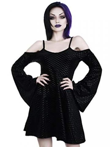 Killstar Kleid Black Sea Sorcerers Dress Schwarz XS - 1