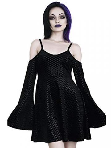 Killstar Kleid Black Sea Sorcerers Dress Schwarz XS - 2