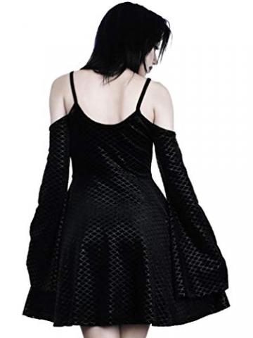 Killstar Kleid Black Sea Sorcerers Dress Schwarz XS - 3