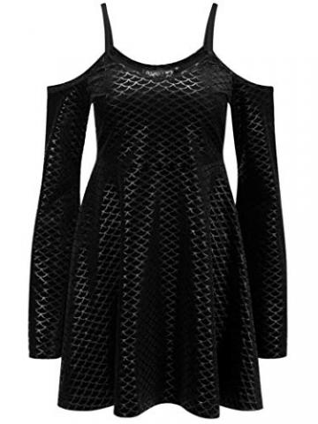 Killstar Kleid Black Sea Sorcerers Dress Schwarz XS - 4