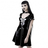Killstar Lack Minikleid - Sin City M - 1