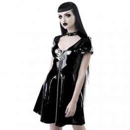 Killstar Lack Minikleid - Sin City M - 1