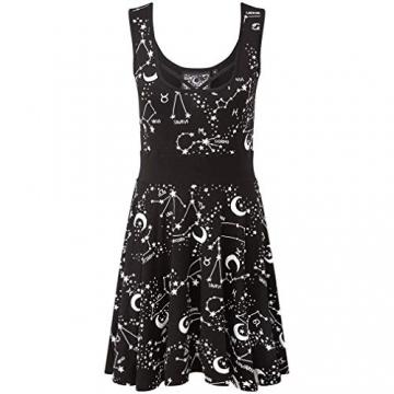 Killstar Sternenprint Skater Kleid - Milky Way S - 3