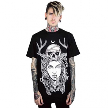 Killstar Unisex T-Shirt - Moon Magic S - 1