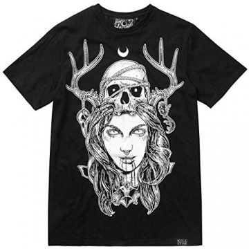 Killstar Unisex T-Shirt - Moon Magic S - 3