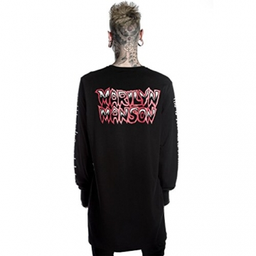 Killstar X Marilyn Manson Langarm Shirt - This Is Your World S - 2