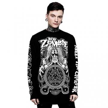 Killstar X Rob Zombie Langarm T-Shirt - Magick XL - 1