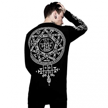 Killstar X Rob Zombie Langarm T-Shirt - Magick XL - 4