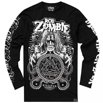 Killstar X Rob Zombie Langarm T-Shirt - Magick XL - 5