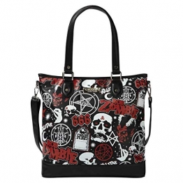 Killstar X Rob Zombie Shopper Handtasche - Mrs. Zombie - 1