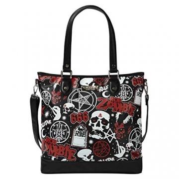 Killstar X Rob Zombie Shopper Handtasche - Mrs. Zombie - 1