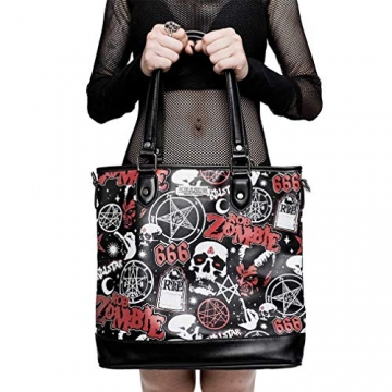 Killstar X Rob Zombie Shopper Handtasche - Mrs. Zombie - 2