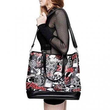 Killstar X Rob Zombie Shopper Handtasche - Mrs. Zombie - 3