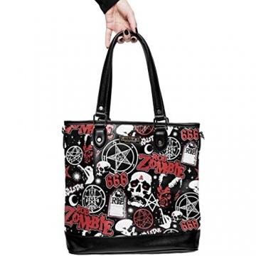 Killstar X Rob Zombie Shopper Handtasche - Mrs. Zombie - 4