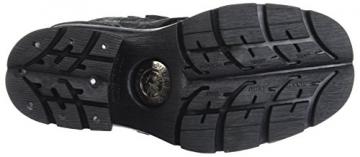 New Rock Damen M-373QX-S2 Biker Boots, Schwarz (Black 001), 38 EU - 3