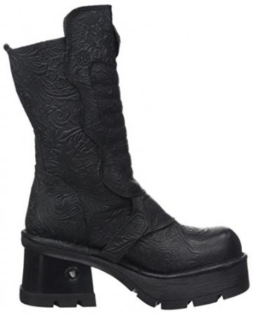 New Rock Damen M-373QX-S2 Biker Boots, Schwarz (Black 001), 38 EU - 6