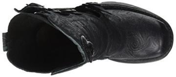 New Rock Damen M-373QX-S2 Biker Boots, Schwarz (Black 001), 38 EU - 7