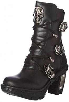 New Rock Damen M Neotr026 S1 Stiefel & Stiefeletten, Schwarz (Black), 38 EU - 1