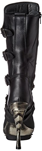 New Rock Damen M-PUNK001-C1 Biker Boots, Schwarz (Black), 38 EU - 2