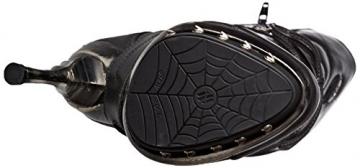 New Rock Damen M-PUNK001-C1 Biker Boots, Schwarz (Black), 38 EU - 3