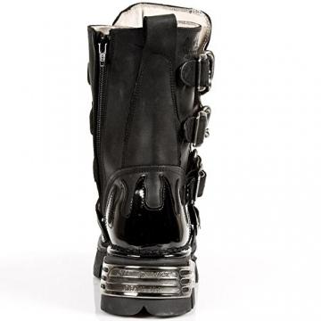 New Rock M 727 S1, Unisex-Erwachsene Stiefel, Schwarz (Noir), 43 EU - 6