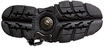 New Rock Unisex-Erwachsene M-1482X-S1 Biker Boots, Schwarz (Black 001), 42 EU - 3