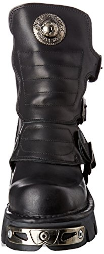 New Rock Unisex-Erwachsene M-1482X-S1 Biker Boots, Schwarz (Black 001), 42 EU - 4