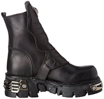 New Rock Unisex-Erwachsene M-1482X-S1 Biker Boots, Schwarz (Black 001), 42 EU - 6